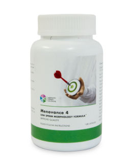 MenOvance 4 Improve Sperm Morphology Formula