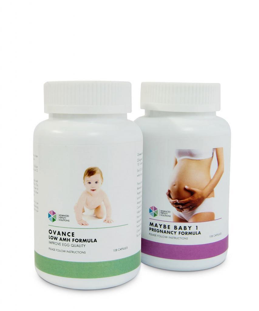 تركيبة هرمون مضاد مولر المنخفض+ تركيبة الحمل 1